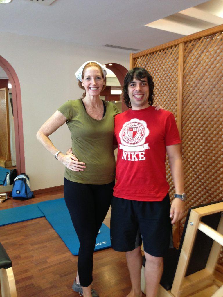 Con Brooke Siler - Pilates Classical Valencia