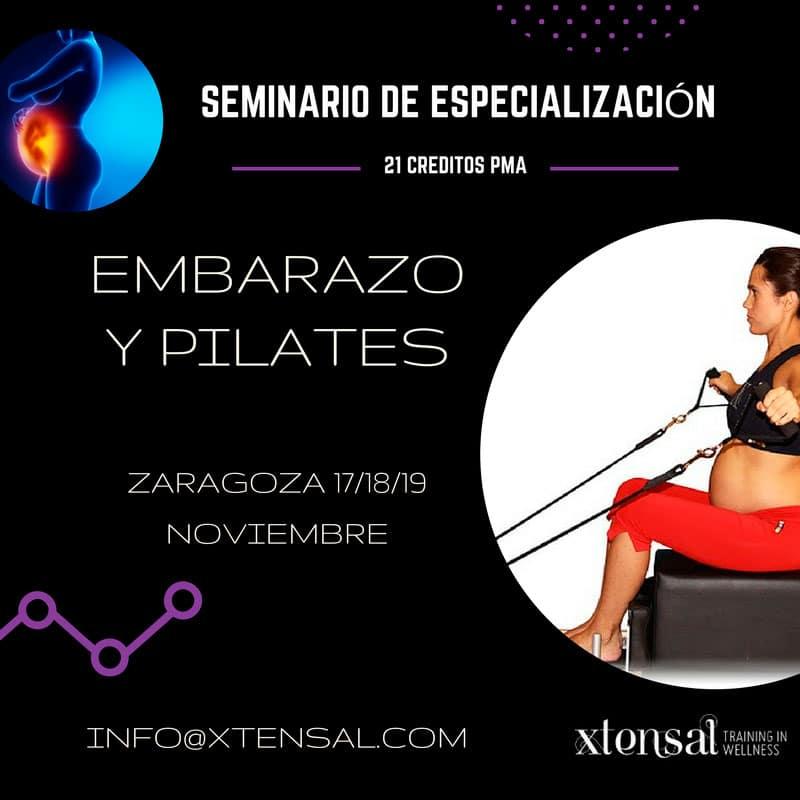seminario deEspecialización en Método Pilates y Embarazo.