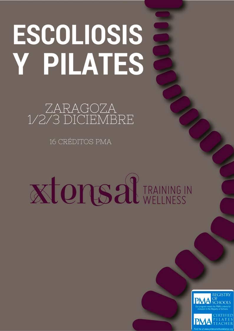 Zaragoza, Seminario de Especialización en Método Pilates y Escoliosis PMA