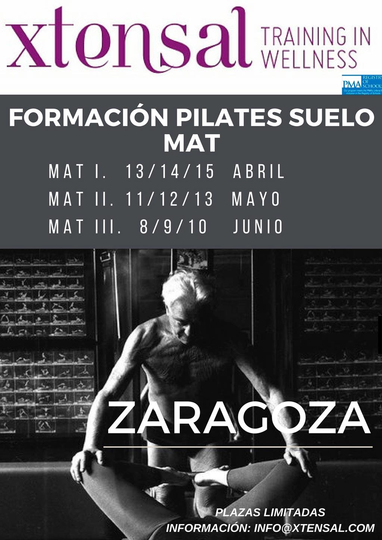 Formación Pilates Mat cursos