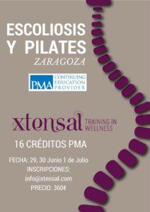 Zaragoza, Seminario de Especialización en Método Pilates y Escoliosis PMA junio y julio