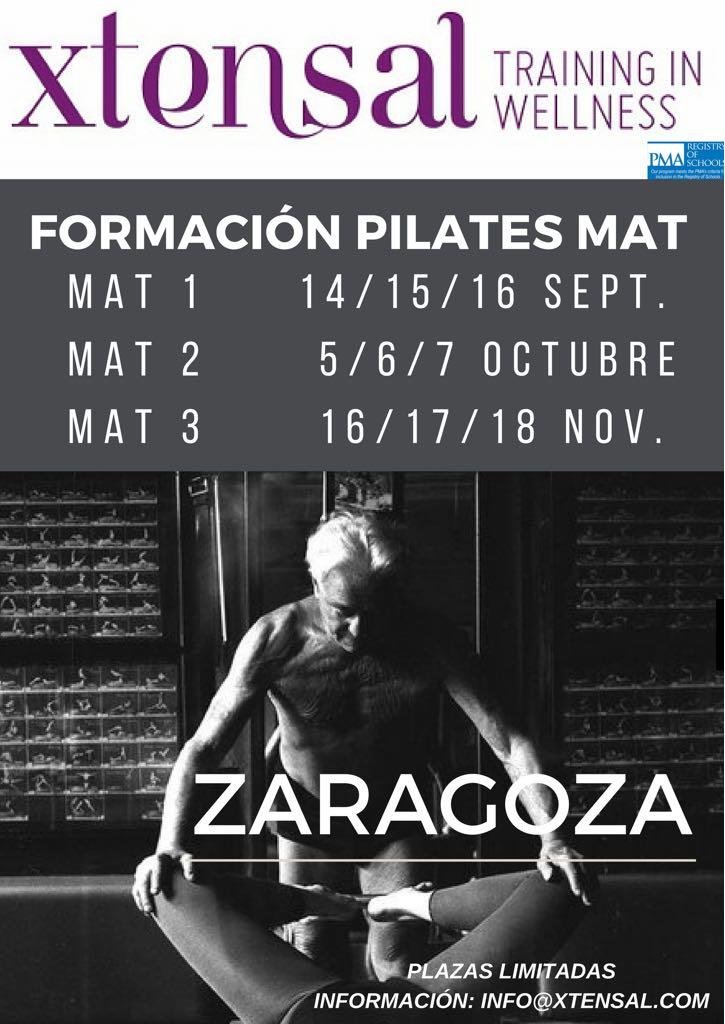 Formación Pilates cursos próximos cursos