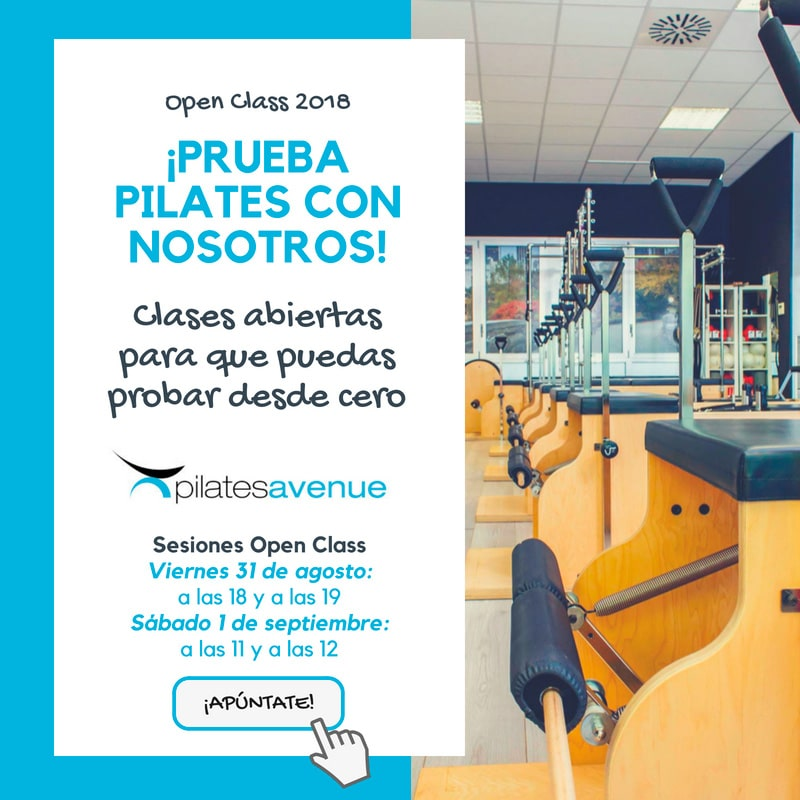 Open Class 2018 Pilates Avenue